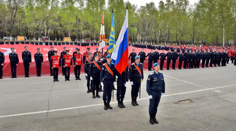В Челябинске состоялась акция-посвящение трудовому подвигу Южного Урала